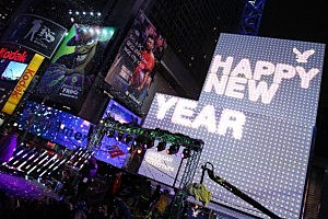 New Year's Eve in Time Square
