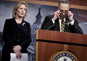 New York Senators Kristen Gillibrand and Charles Schumer