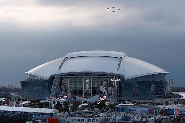 Super Bowl XLV Flyover