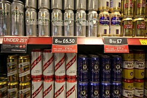 Beer Stocked at a Store