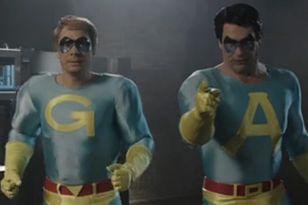 ... animated sketch 'The Ambiguously Gay Duo' for the first time in years.