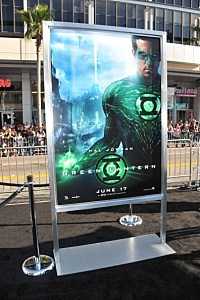 The green Lantern starring Ryan Reynolds hits theaters Friday