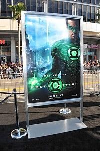 The green Lantern starring Ryan Reynolds hits theaters Friday