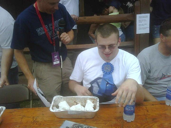 Erie County Fair Eating Contest