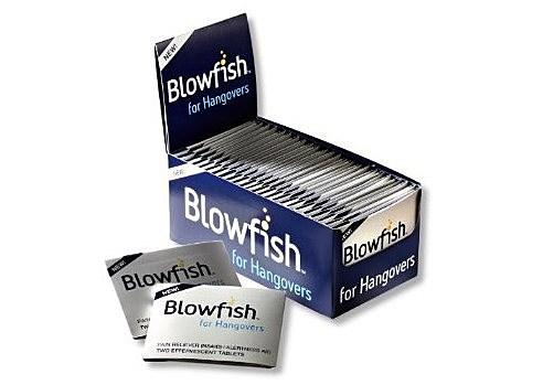 Blowfish Hangover pills