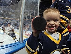 Buffalo sports fan