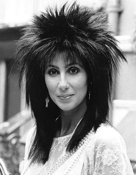 Cher '80s hair