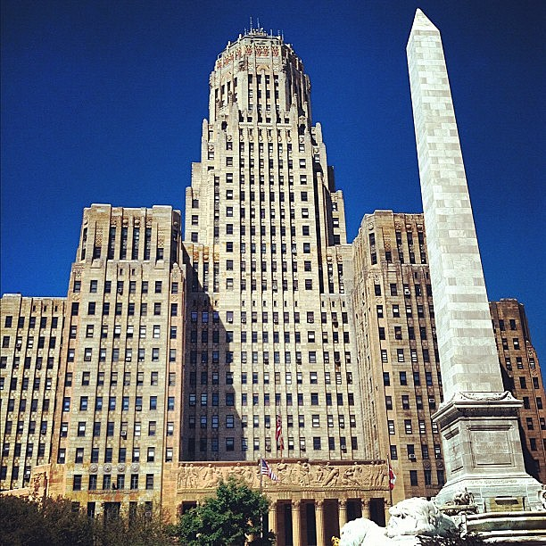 Buffalo City Hall, @mollykh13 Instagram