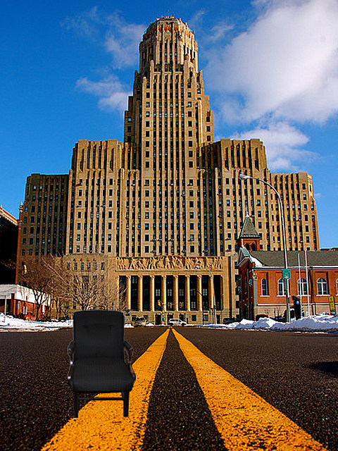 Eastwooding Buffalo City Hall