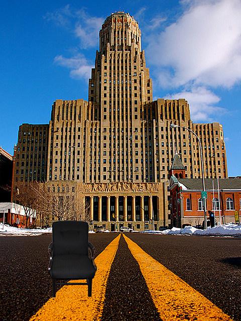 Eastwooding Buffalo City Hall