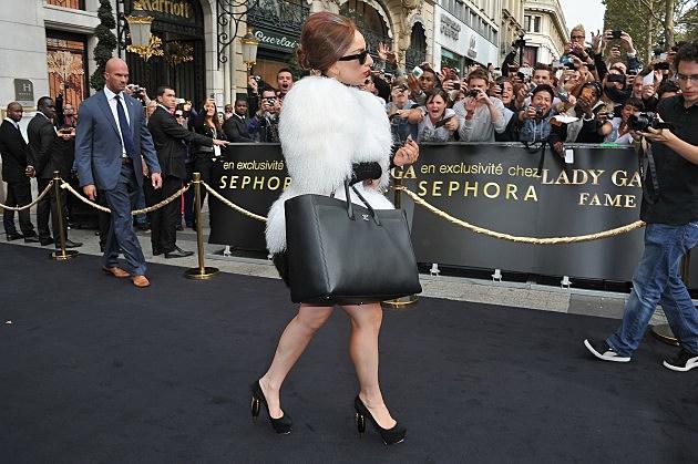 """Lady Gaga """"Fame"""" Eau de Parfum Launch - Outside Show"""