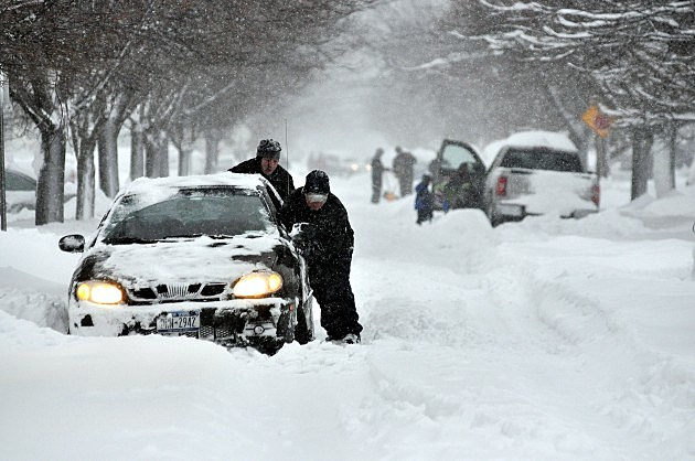 December 2010 Blizzard Buffalo Picture