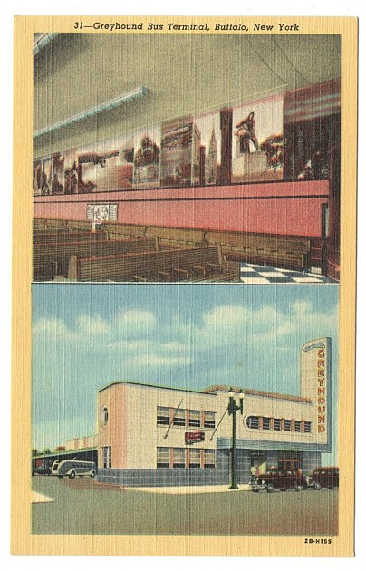 Greyhound Bus Terminal Buffalo NY