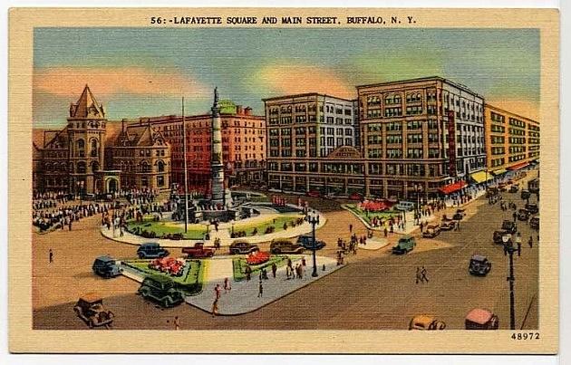 Lafayette Square Buffalo NY