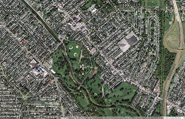 South Buffalo Seneca Street Cazenovia Park