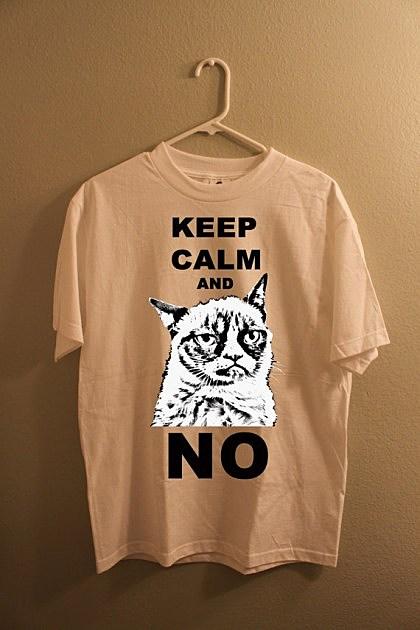 grumpy cat t-shirt, vintage1992