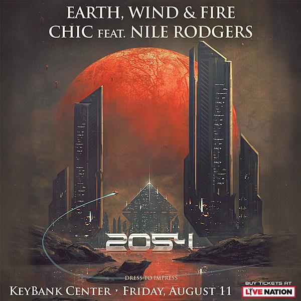 Earth Wind And Fire Tour Buffalo